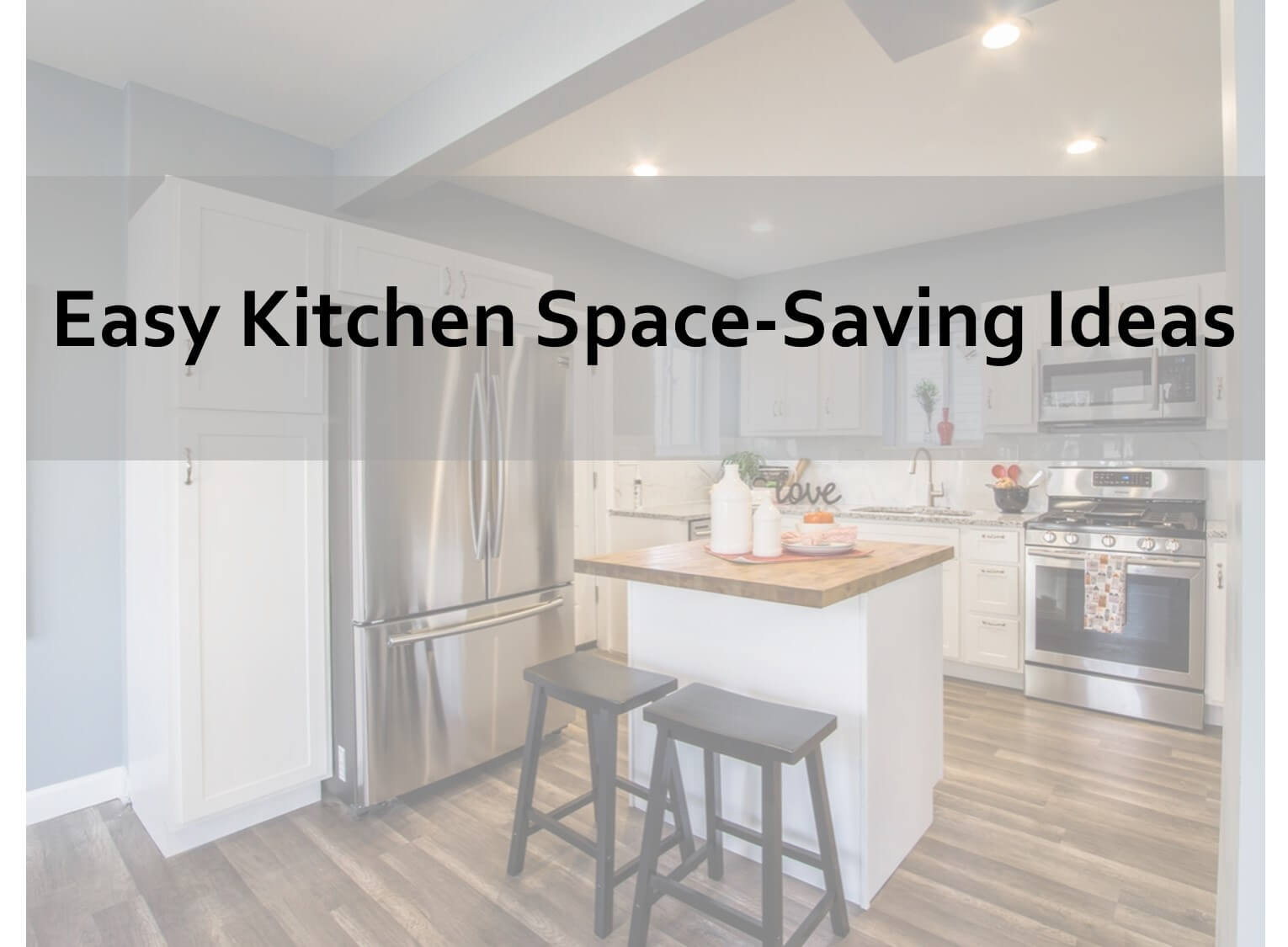 kitchen space-saving solutions