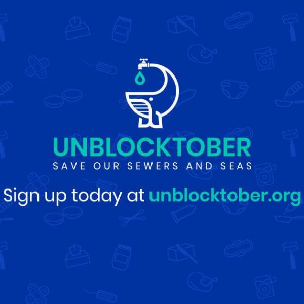 Grease Hero supports Unblocktober to protect sewers and seas.