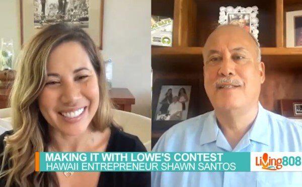Grease Hero Shawn Santos KHON Living808 interview